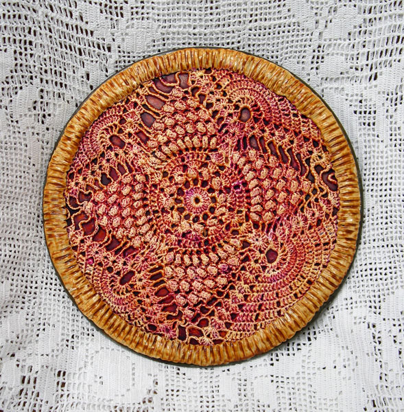 Photograph of Strawberry Rhubarb Pie